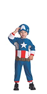 toddler captain america