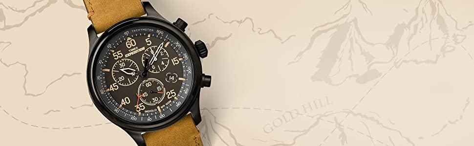 Timex Expedition Analog Chronograph Watches