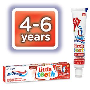 Macleans 4-6 year Little teeth