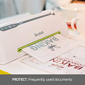 Protect: Frequently used documents.