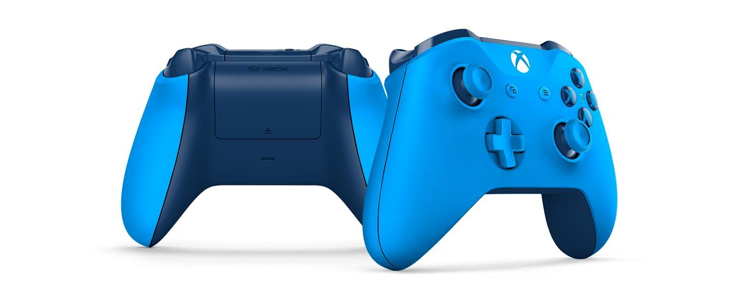 Microsoft - Mando Inalámbrico, Color Azul (Xbox One), Bluetooth ...