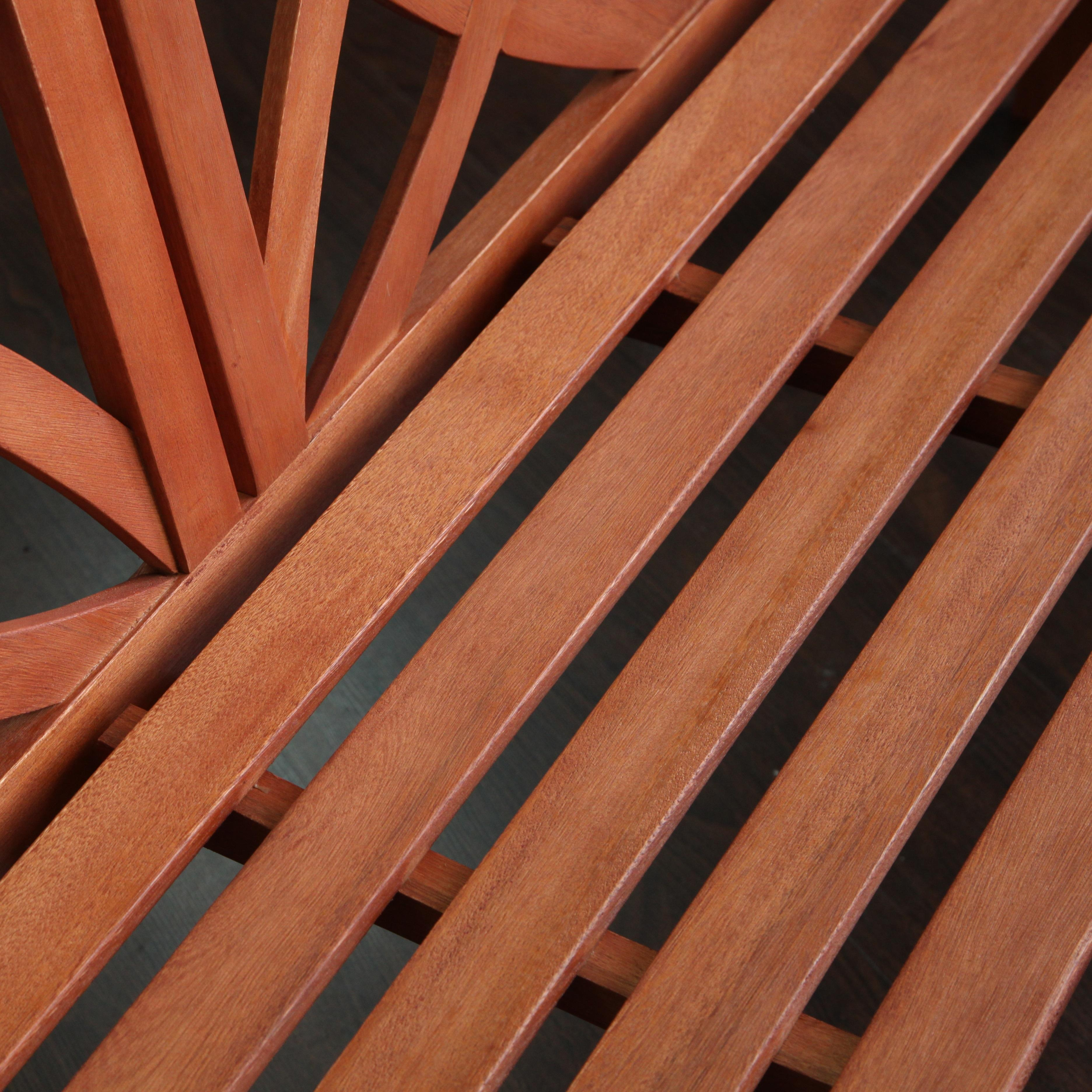 Amazonia Teak Newcastle Teak Bench: Amazon.com : Baltic Eco-friendly 5-foot Outdoor Wood Garden Bench : Garden & Outdoor