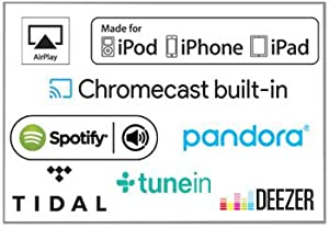 bluetooth, wifi, stream, tidal, pandora, spotify, airplay