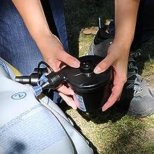 Amazon Com Coghlan S Electric Air Pump 110 120 Volt
