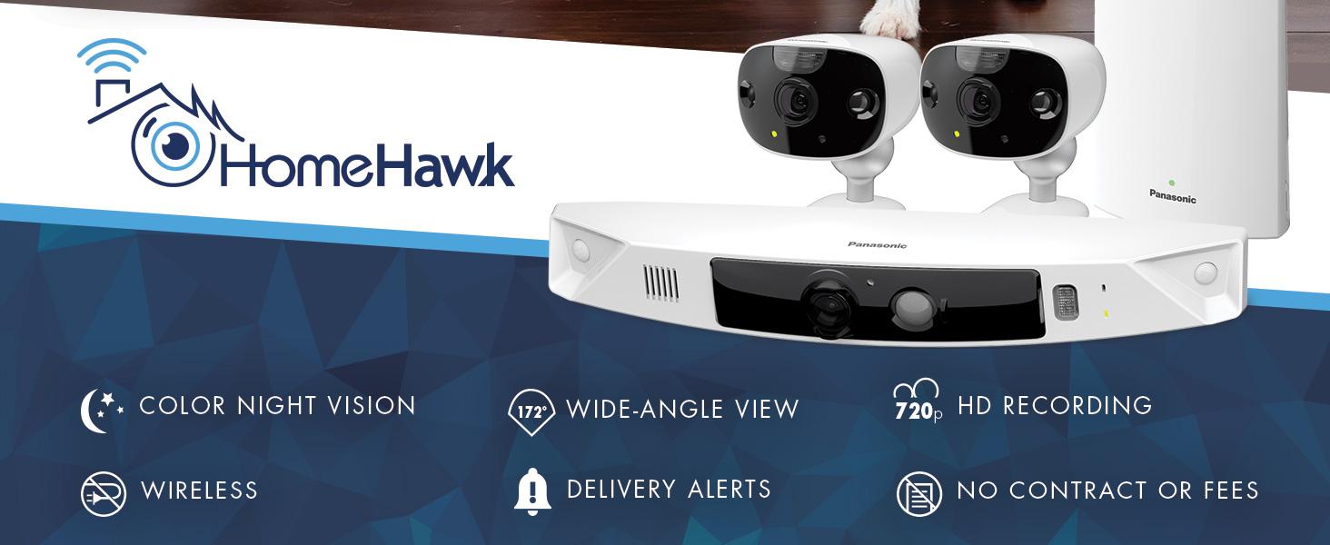 Panasonic HomeHawk Outdoor Home Monitoring Camera System