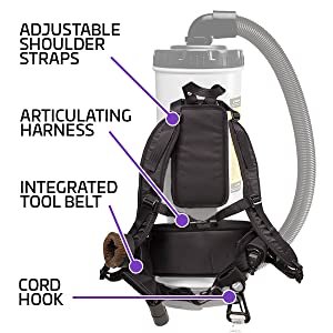 AviationVac Backpack Vacuum