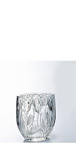 ガラス グラス クリスタル ベース 花器 花瓶 ホテル ロビー 高級
