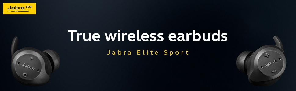 Jabra true wireless earbuds