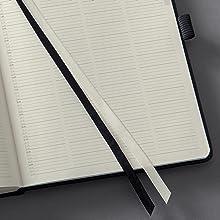 SIGEL C2020 Agenda diaria 2020 Conceptum, tapa blanda 13,5 x 21 cm, negro