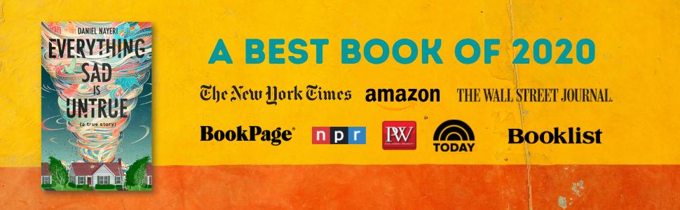 Persia, Best of 2020, Daniel Nayeri, Everything Sad, New York Times, NPR, Wall Street Journal, Teen