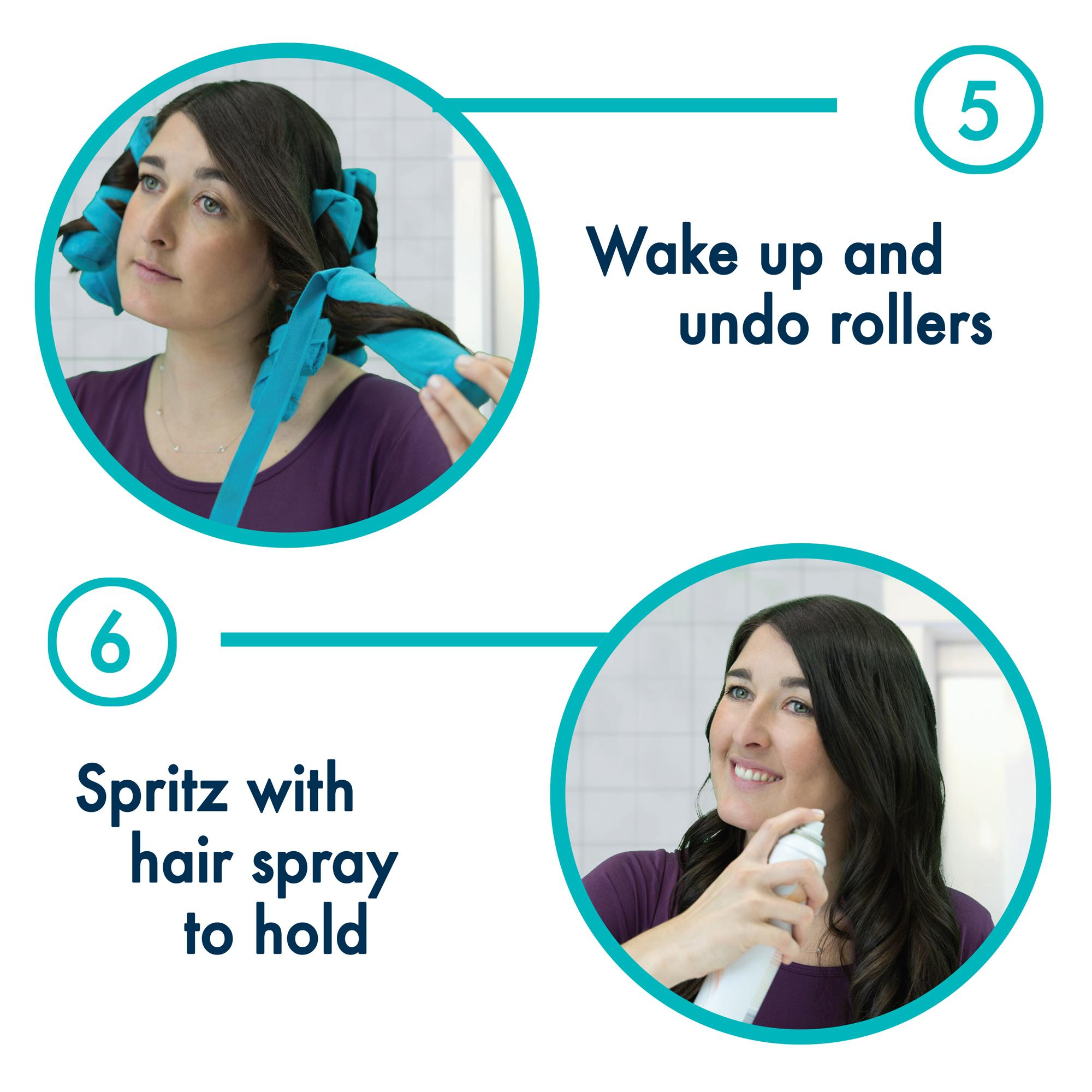 how to use sleep in hair rollers
