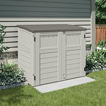 Horizontal Storage Shed. & Amazon.com : Suncast BMS4900D Glidetop Slide Lid Shed : Storage ...