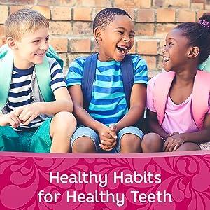 Dental hygiene with kids.