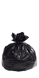 Small Industrial Black Trash Liners