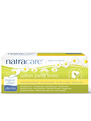 Natracare Organic Curved Panty Liners