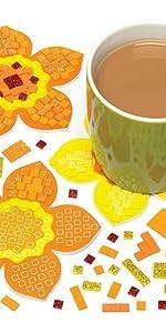 Jungle Animal Mosaic Kits Pack of 4 Toys & Games