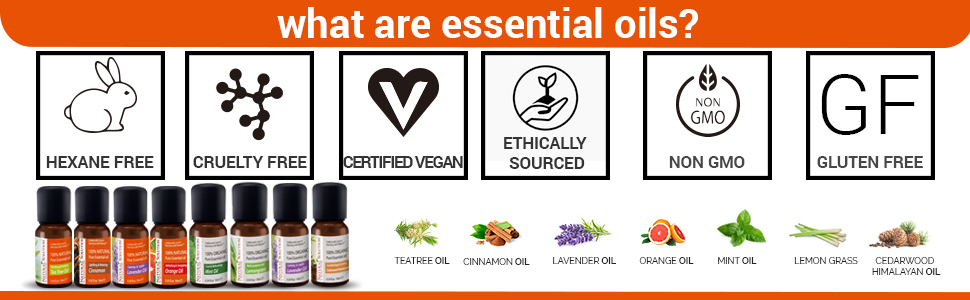 natural essential oils