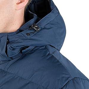 Trespass mens jacket, Trespass clip, mens jacket, adjustable hood jacket, mens winter jacket