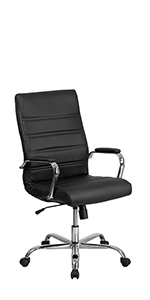 High Back Office Chair | High Back LeatherSoft Executive Office Swivel Chair