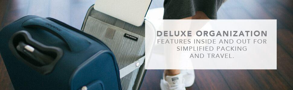 Mar Vista 2.0 Deluxe organizational feature luggage collection