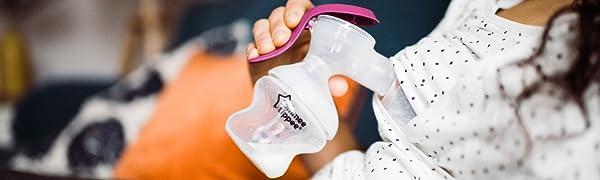 Tommee Tippee, Manual Breastpump, breastfeeding pump, Manual Breast Pump, Expressing Pump