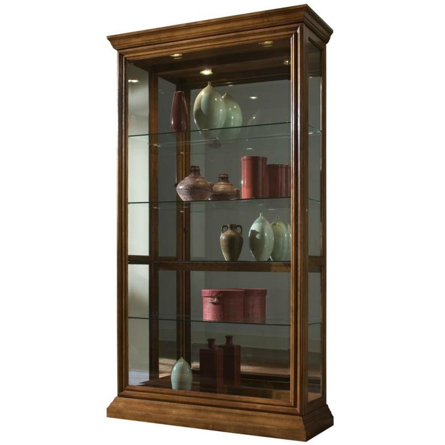 mirrored curiocorner door curiocurio case