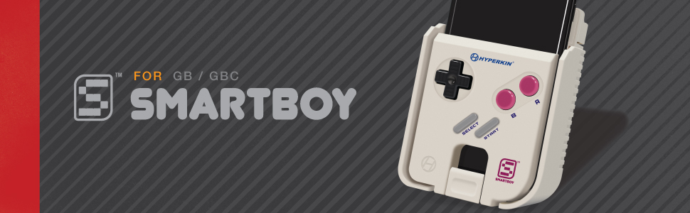 Hyperkin SmartBoy Gameboy Color Android Compatible Smartphone Phone Portable Travel Airplane Mobile