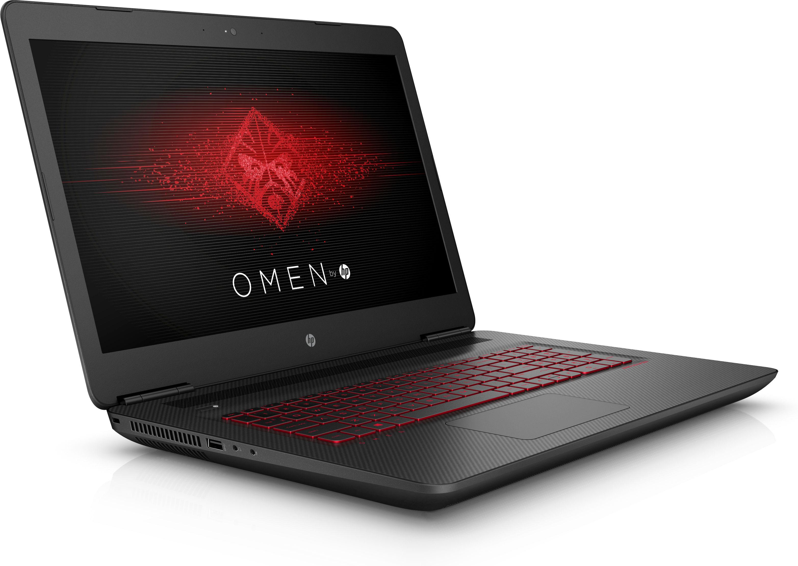 Hp omen 17 w209ng notebook i5 gtx1060 6gb ssd 8gb ram for Portent vs omen