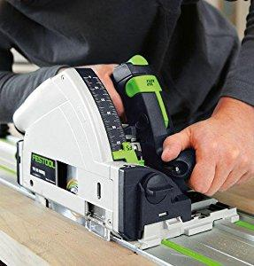 demonstration of using the Festool TS 75