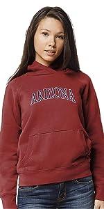 X-Large Oatmeal NCAA League Womens Alabama Crimson Tide Academy Qtr Zip