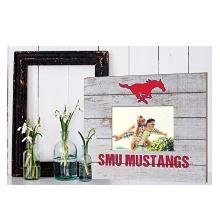 Southern Methodist Mustangs Team Spirit Slat Frame