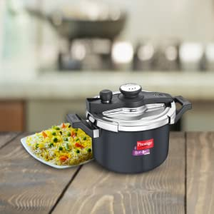 Prestige Svachh Clip-on 5 Litre Hard Anodised Pressure Cooker