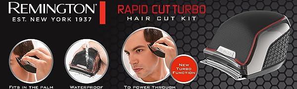 Remington Rapid Cut Turbo Hair Cut Kit