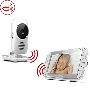 Motorola MBP483A 2.4 GHZ Fhss Zusätzliche Kamera für MBP483 Baby Monitor No
