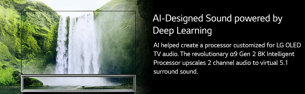 ai designed sound powered deep learning 2 channel audio to virtual 5.1 surround sound