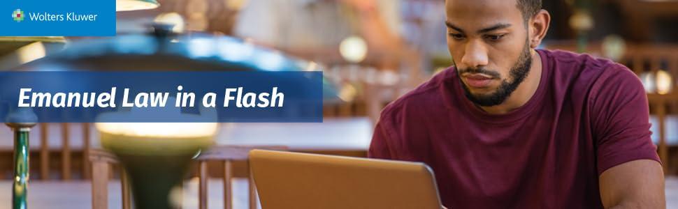 Emanuel Law in a Flash, Law School Flash Cards, Law School Study Aids
