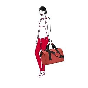 reisenthel allrounder L Reisetasche Tasche Sporttasche russet rot MT3061