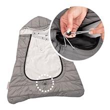 コンフィケープ + 暖かい 使いやすい 冬 足元 調整絞り 風