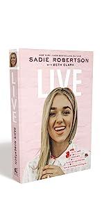 sadie robertson book