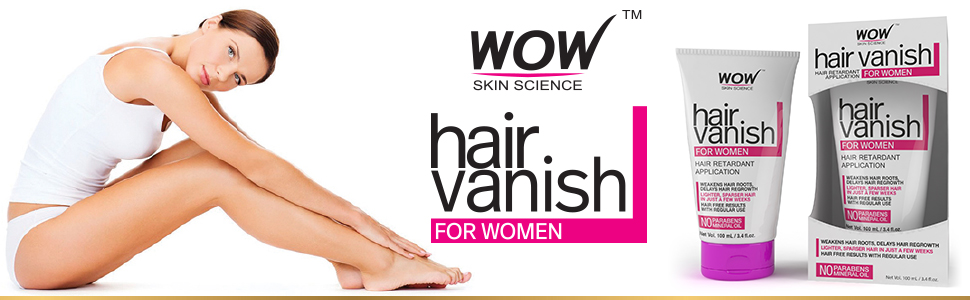 WOW Hair Vanish For Women