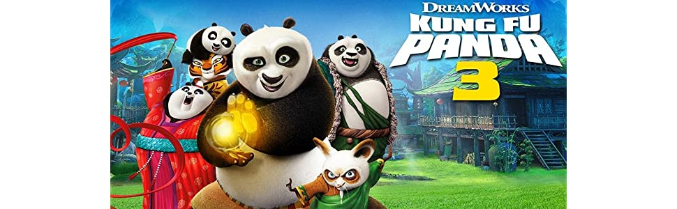 Amazon.com: Kung Fu Panda 3 - Awesome Edition [DVD]: Jack Black, Bryan  Cranston, Dustin Hoffman, Angelina Jolie, J.K. Simmons, Seth Rogen, Lucy  Liu, David Cross, Kate Hudson, James Hong, Randall Duk Kim,Amazon