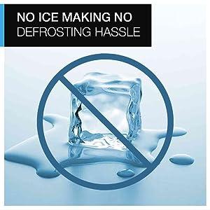 No ice making