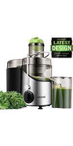 Licuadoras Para Verduras y Frutas, Aicook 600W Licuadora Con ...