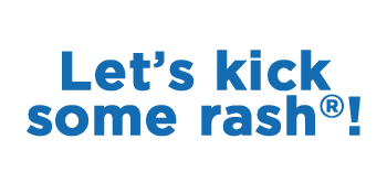Let's kick some rash!