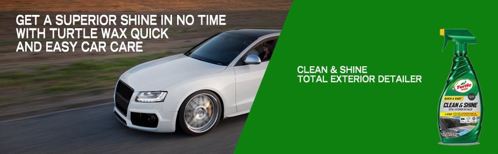 Turtle Wax 50576 Clean And Shine Total Exterior Detailer 26 Oz Automotive