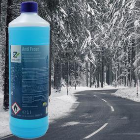 Anti-Frost Windshield Washer Fluid de-icer