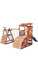 Little Tikes Real Wood Adventures Wildcat Falls Outdoor Playset