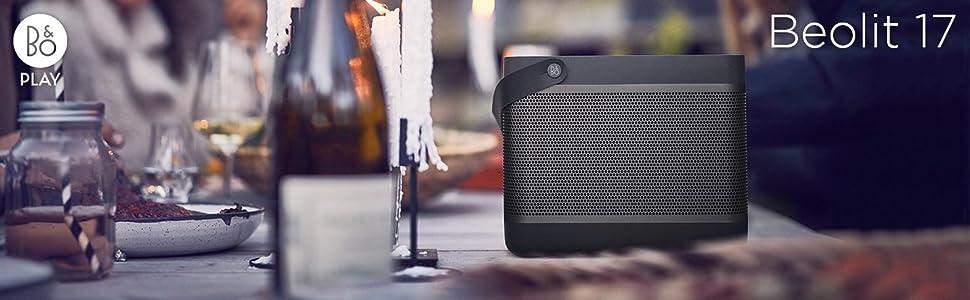 Bang & Olufsen, B&O PLAY, Beolit 17, Bluetooth speaker, wireless speakers, portable speakers