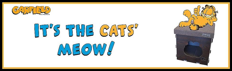 Amazon.com: Garfield gato Condo con Bonus Rascador de ...