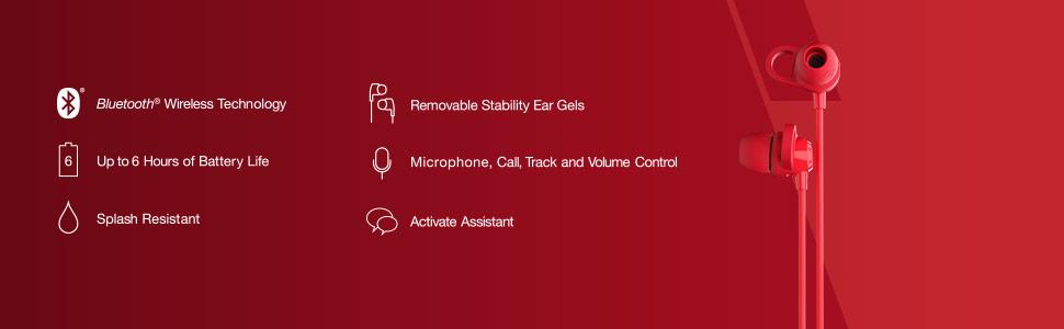 Jib+ Wireless Features